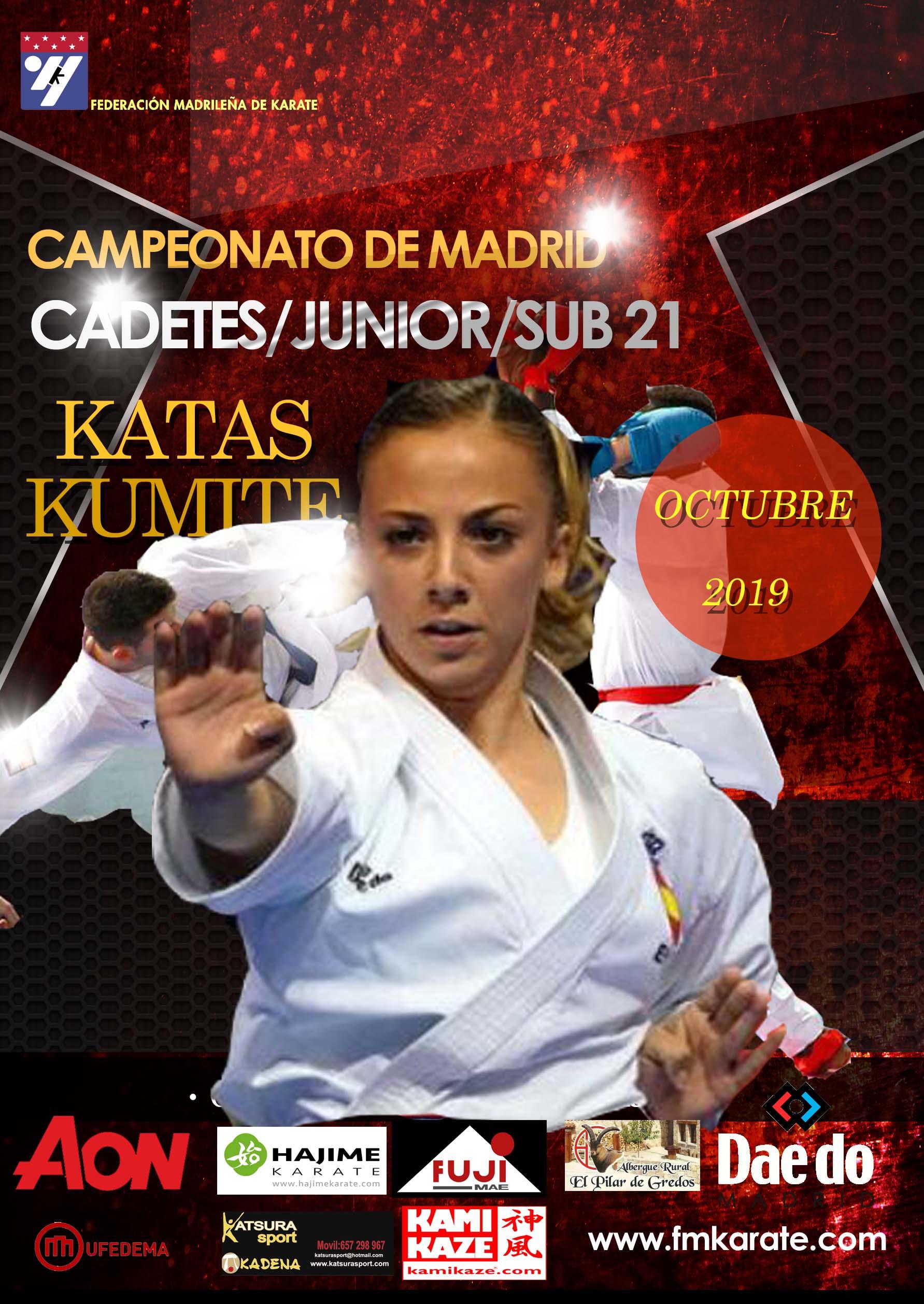 Campeonato FMK Cadete-Junior-Sub21 2019