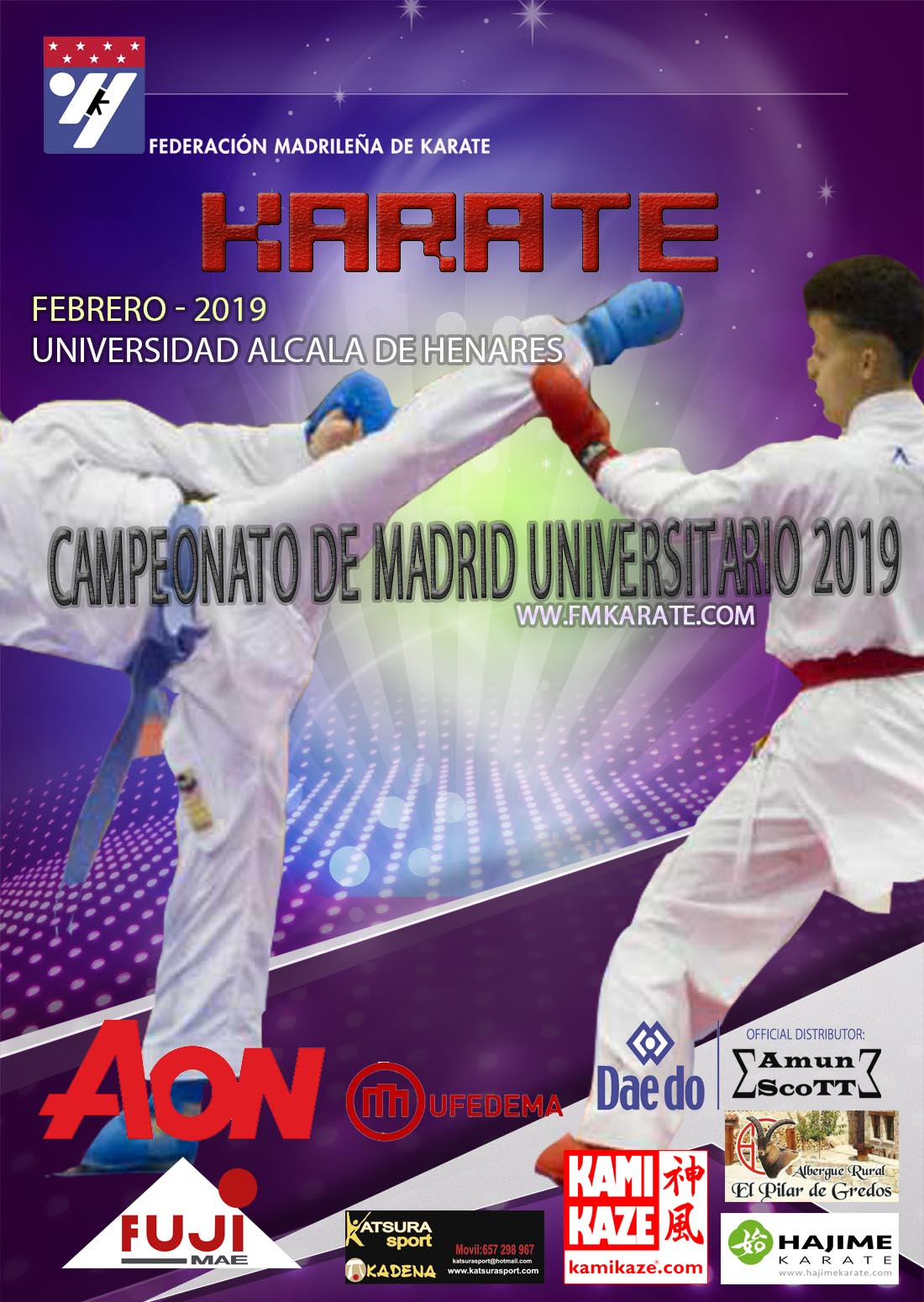 Campeonato Universitario de Madrid 2019